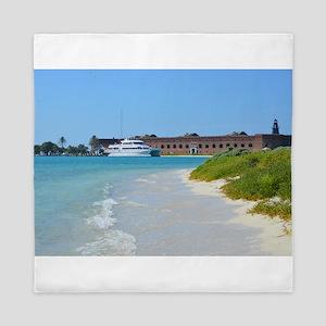 Dry Tortugas, Key West, FL Queen Duvet