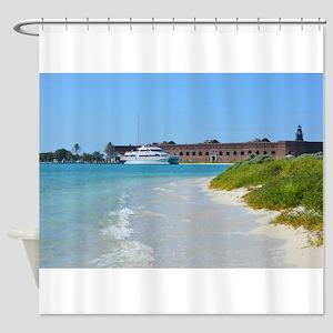 Dry Tortugas, Key West, FL Shower Curtain