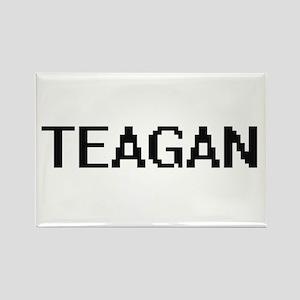 Teagan Digital Name Design Magnets