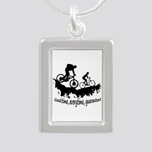 Mountain Biking Good Time Inspirational Necklaces
