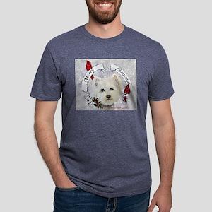 Winter Westie Christmas T-Shirt