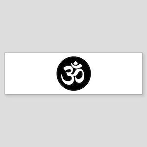 Om Symbol Circle Bumper Sticker