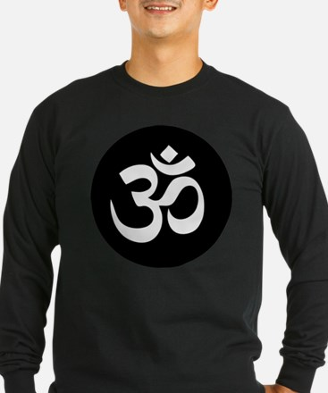 Om Symbol Circle Long Sleeve T-Shirt
