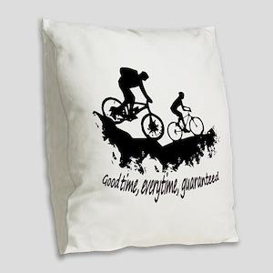 Mountain Biking Good Time Inspirational Quote Burl