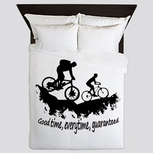 Mountain Biking Good Time Queen Duvet