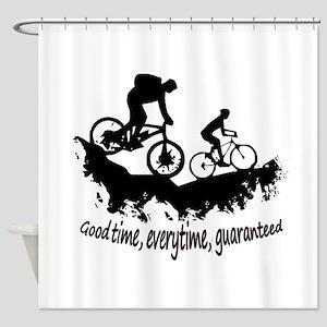 Mountain Biking Good Time Inspirational Quote Show