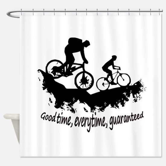 Mountain Biking Good Time Inspirational Quote Show
