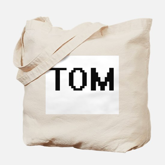 Tom Digital Name Design Tote Bag