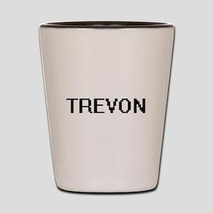 Trevon Digital Name Design Shot Glass