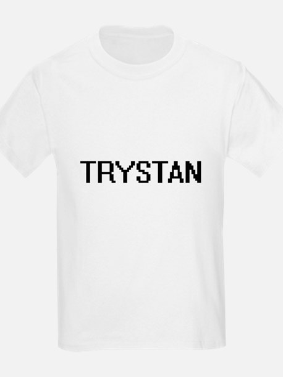 Trystan Digital Name Design T-Shirt
