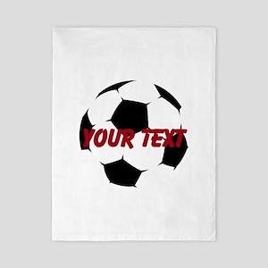 Soccer Ball Twin Duvet