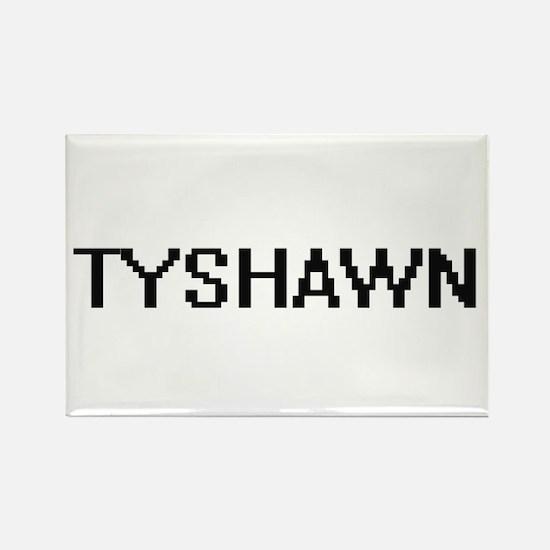 Tyshawn Digital Name Design Magnets