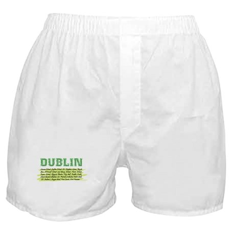 distressed places Boxer Shorts