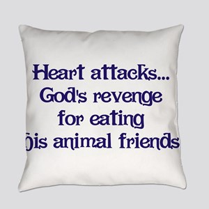 Heart Attacks Everyday Pillow