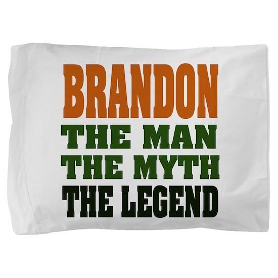 Brandon The Legend Pillow Sham