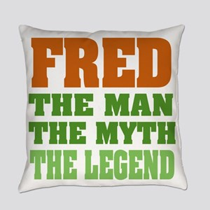 Fred The Legend Everyday Pillow