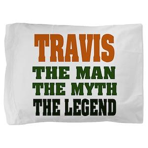 Travis The Legend Pillow Sham