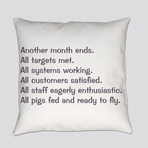 All Targets Met Everyday Pillow