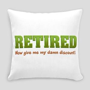 Retired Everyday Pillow