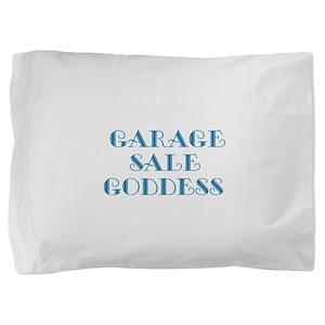 Garage Sale Goddess Pillow Sham
