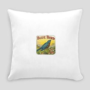 Blue Bird Everyday Pillow