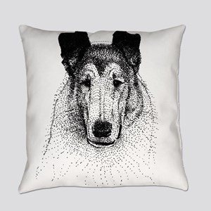 Smooth Collie Everyday Pillow