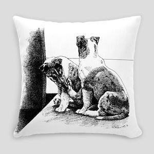 Puppy Feet Everyday Pillow