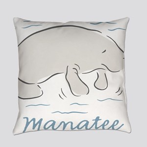 Manatee Everyday Pillow