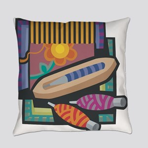Weaving Everyday Pillow