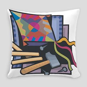 Kite Maker Everyday Pillow
