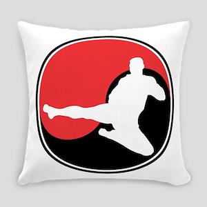 Martial Arts Yin Yang Everyday Pillow