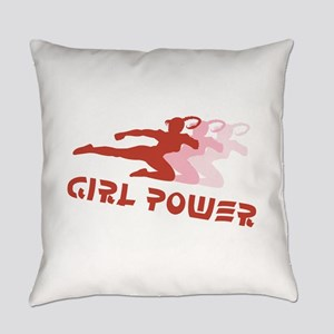 Girl Power Everyday Pillow