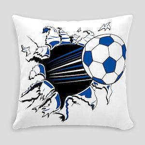 Soccer Ball Burst Everyday Pillow