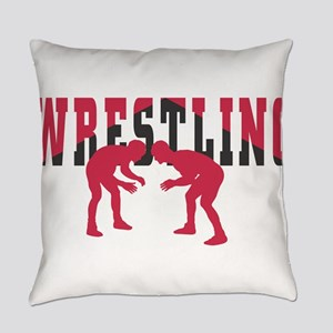 Wrestling 2 Everyday Pillow
