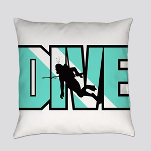 Dive Everyday Pillow