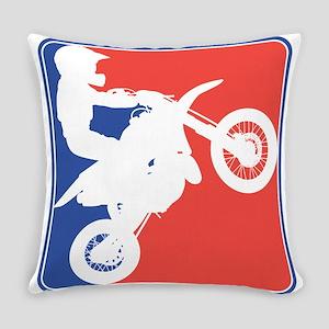 PeeWee Motocross Everyday Pillow