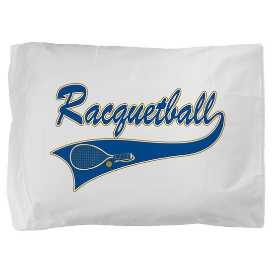 Racquetball Pillow Sham
