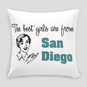 Best Girls San Diego Everyday Pillow
