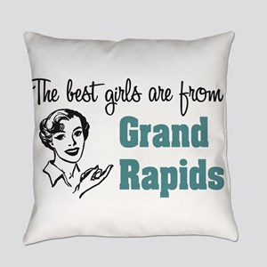 Best Girls Grand Rapids Everyday Pillow