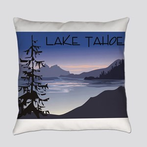 Lake Tahoe Everyday Pillow