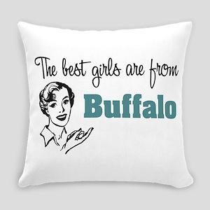 Best Girls Buffalo Everyday Pillow