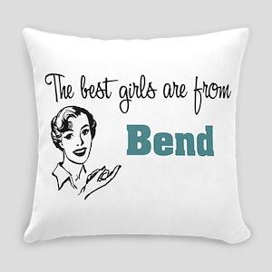 Best Girls Bend Everyday Pillow