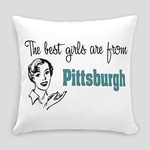 Best Girls Pittsburgh Everyday Pillow
