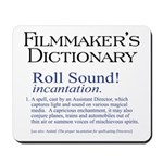Film Dctnry: Roll Sound! Mousepad