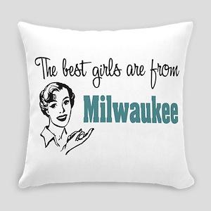 Best Girls Milwaukee Everyday Pillow