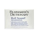Film Dctnry: Roll Sound! Rectangle Magnet (100 pac