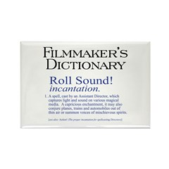 Film Dctnry: Roll Sound! Rectangle Magnet (10 pack