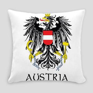 Austria Coat of Arms Everyday Pillow