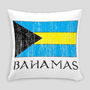 Bahamas Flag Everyday Pillow