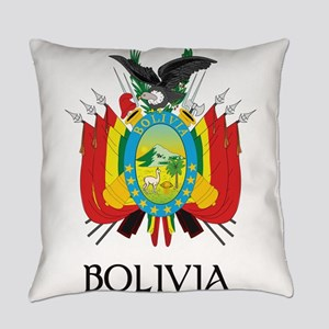Coat of arms of Bolivia Everyday Pillow